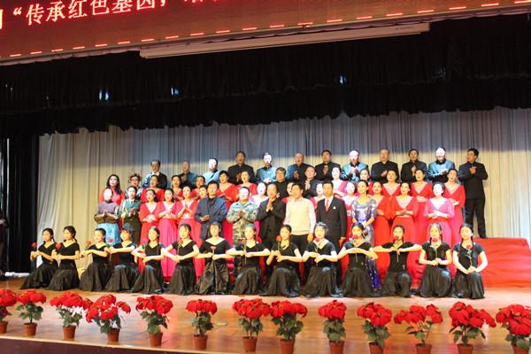 邹城五中红玫瑰社团_我院举办迎新生文艺汇演 | 鲁中中等专业学校